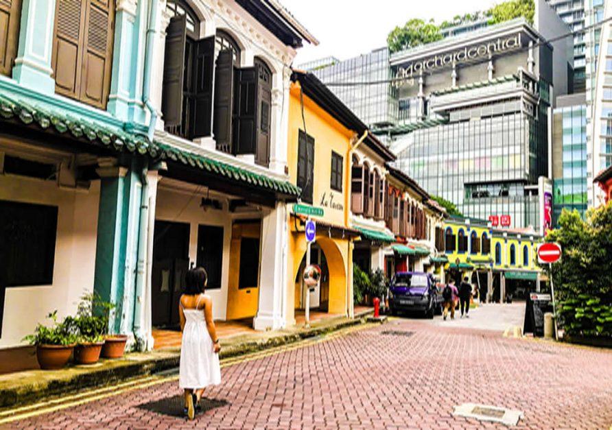 Orchard Central à Singapour