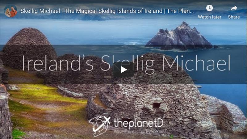 Skellig Michael in Ireland video