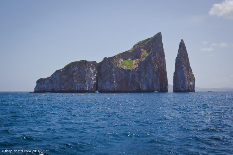 sleeping lion rock in the Galapagos