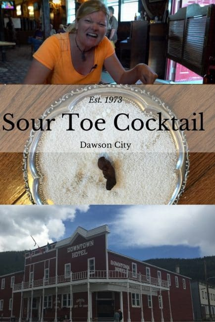 Sour Toe Cocktail
