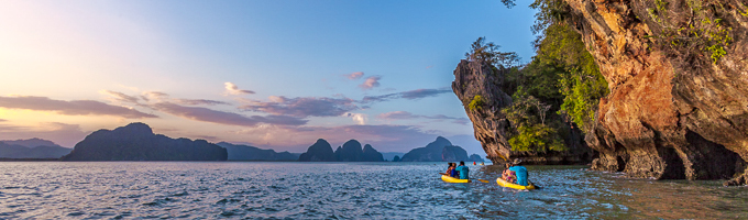 thailand travel guide kayaking
