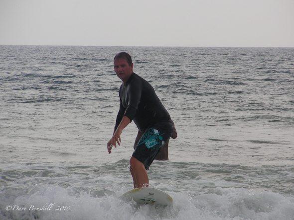 surfing in sri lanka, successful lesson