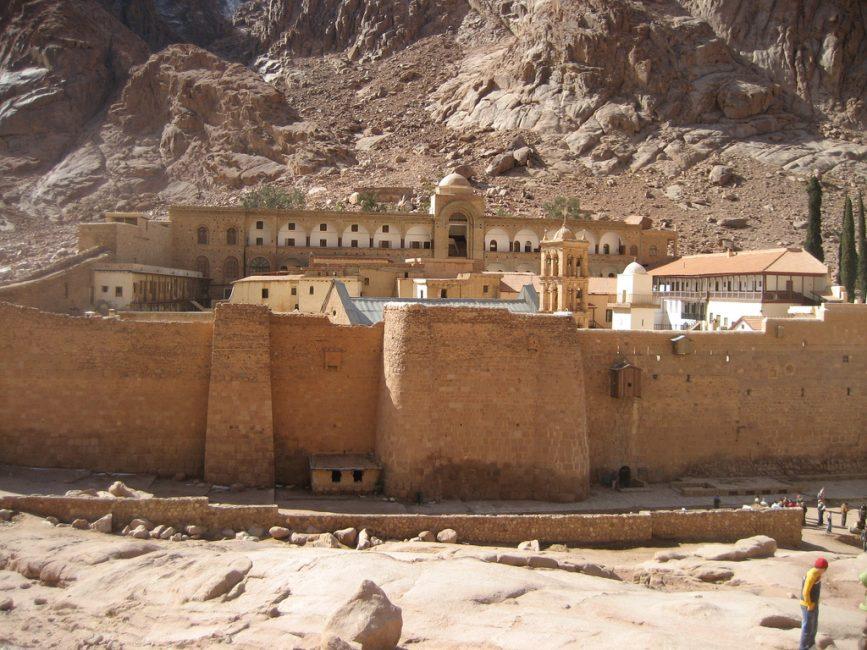 St Catherine's monastery Egypt
