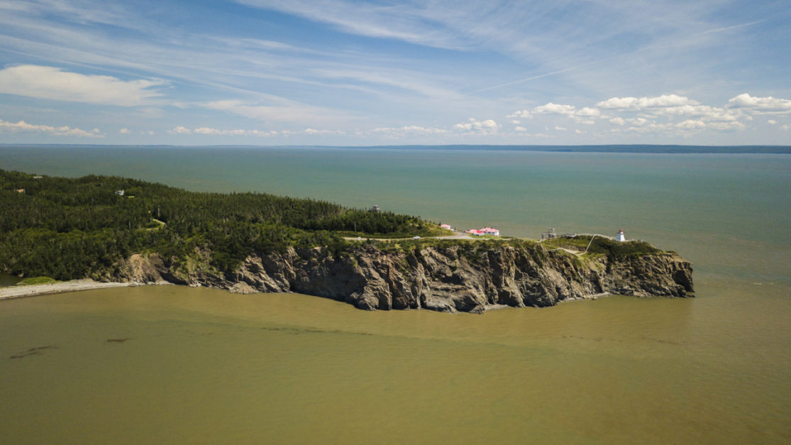 Cape Enrage is a lose daytrip from Saint John New Brunswick