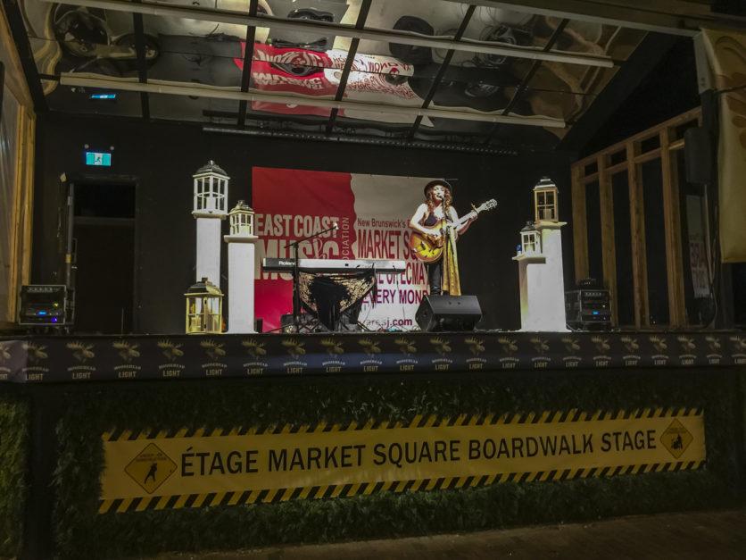 Market Square Stage in Saint John New Brunswick