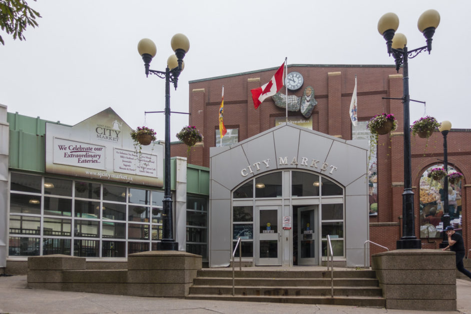 MArket in Saint John New Brunswick