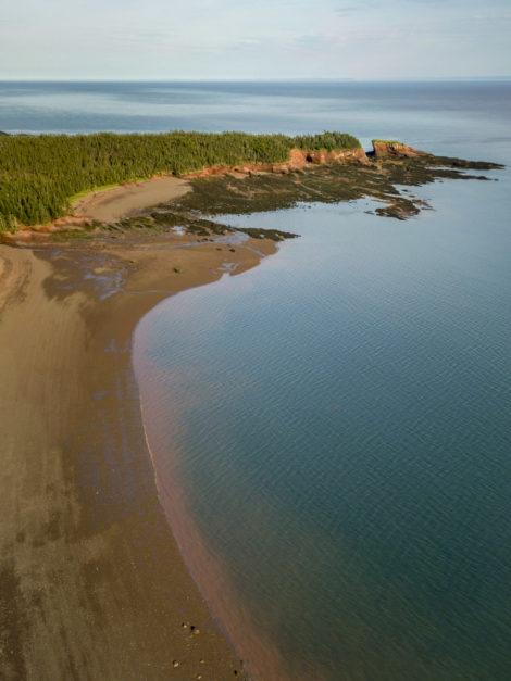Duck Pond Beach near Saint John New Brunswick
