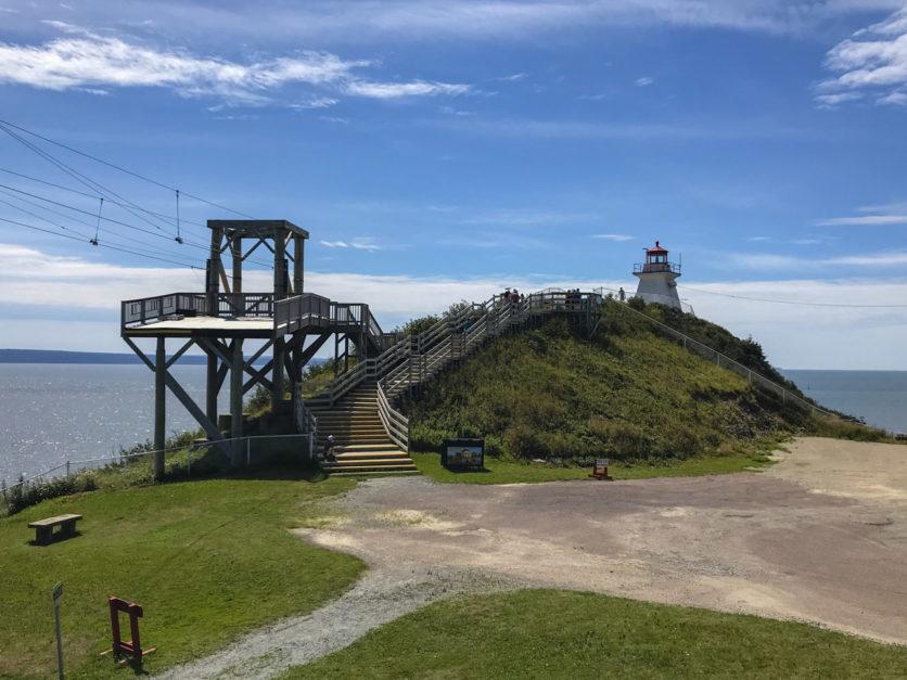 Cape Enrage Lighthouse New Brunswick