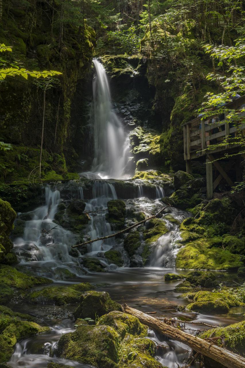 Dixon Falls near Saint John New Brunswick