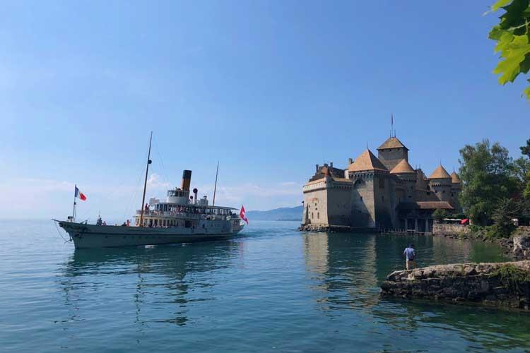 switzerland itinerary | montreau chateau  de chillion
