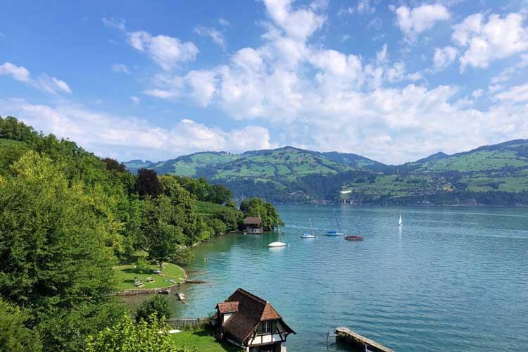 travel itinerary for switzerland | golden pass