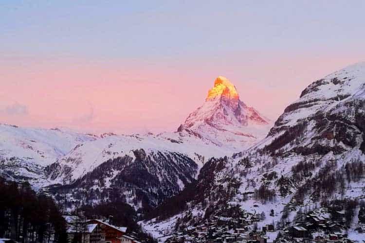 switzerland one week itinerary | zermatt and the matterhorn