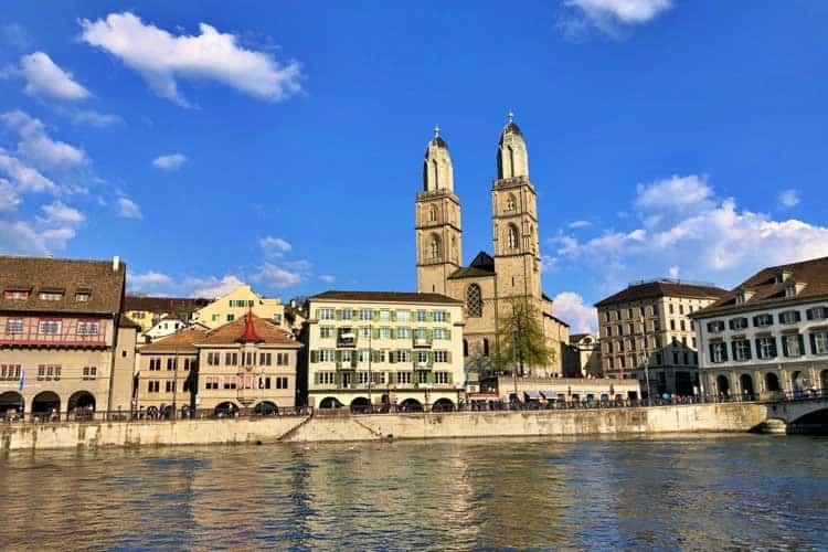 switzerland itinerary day 1 zurich