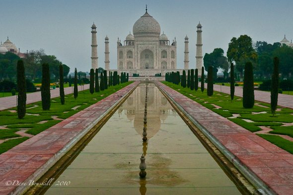 The Taj Mahal before all the crowds!