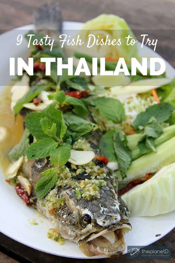 Thai dishes - Fish is a major part of Thai cuisine, and in Thailand the entirety of the fish is used. Here are 9 Thai dishes you don't want to miss featuring fish.