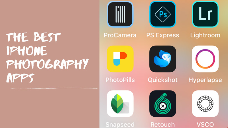 Best iPhone Photo Apps