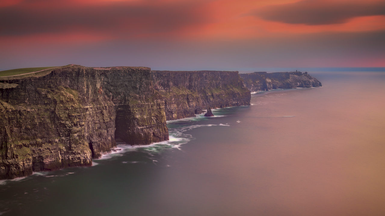 The the Cliffs of Moher Ireland