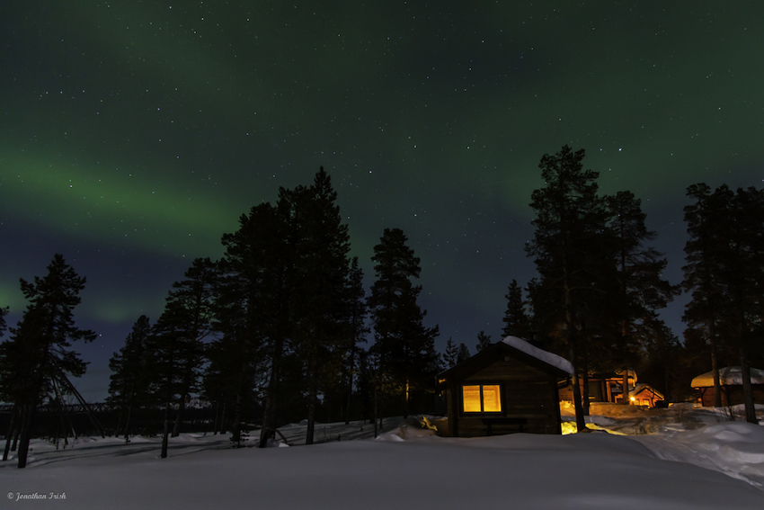 The Northern Lights of Arctic Sweden