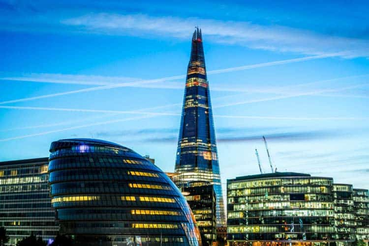 The Shard 3 Days in London 3 day London itinerary England