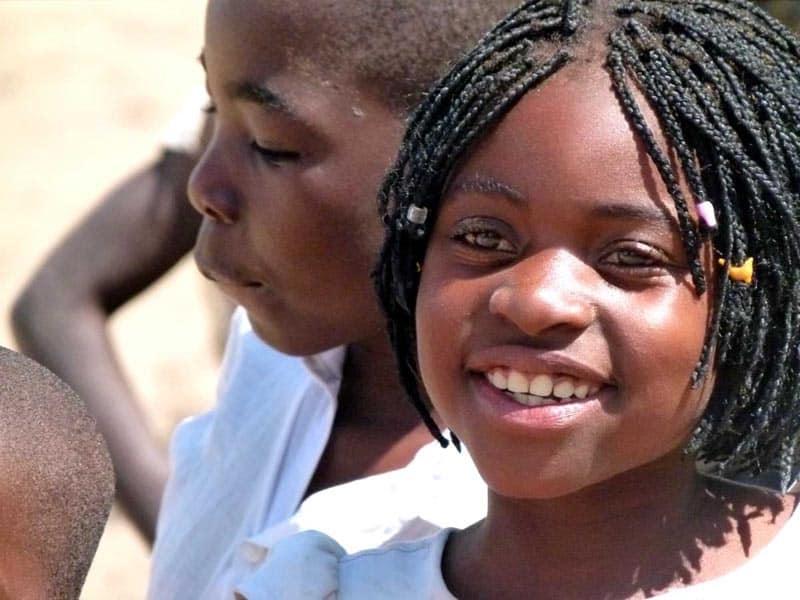 travel faces mozamibique children