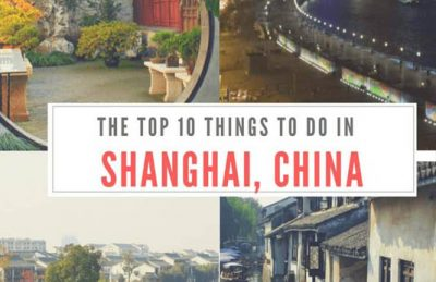 top 23 things to do in Shanghai China