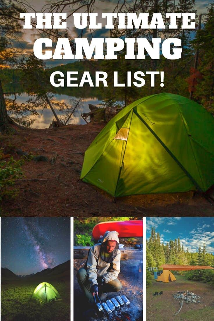 The Best Camping Gear List