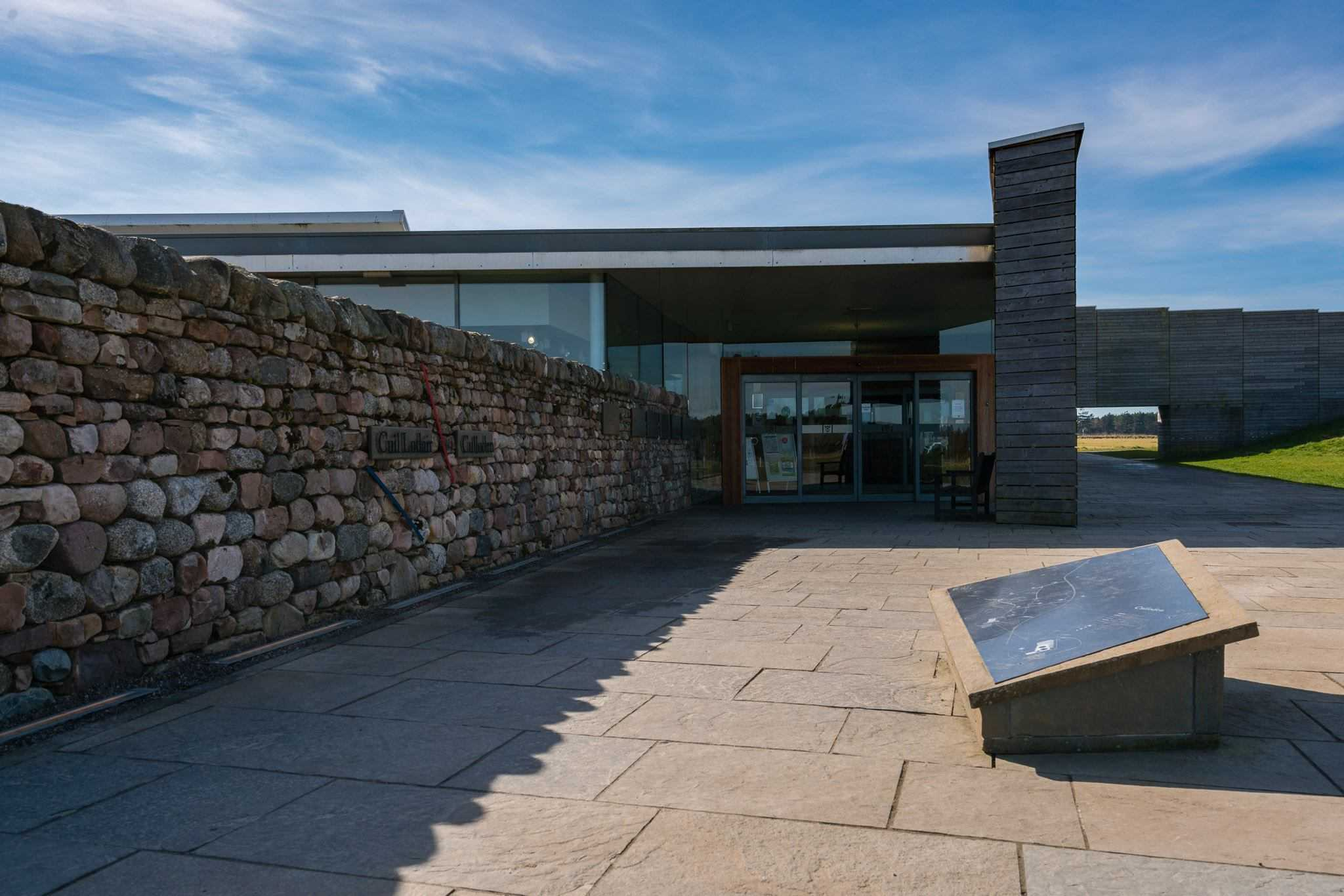 e Culloden Battlefield Visitors Center