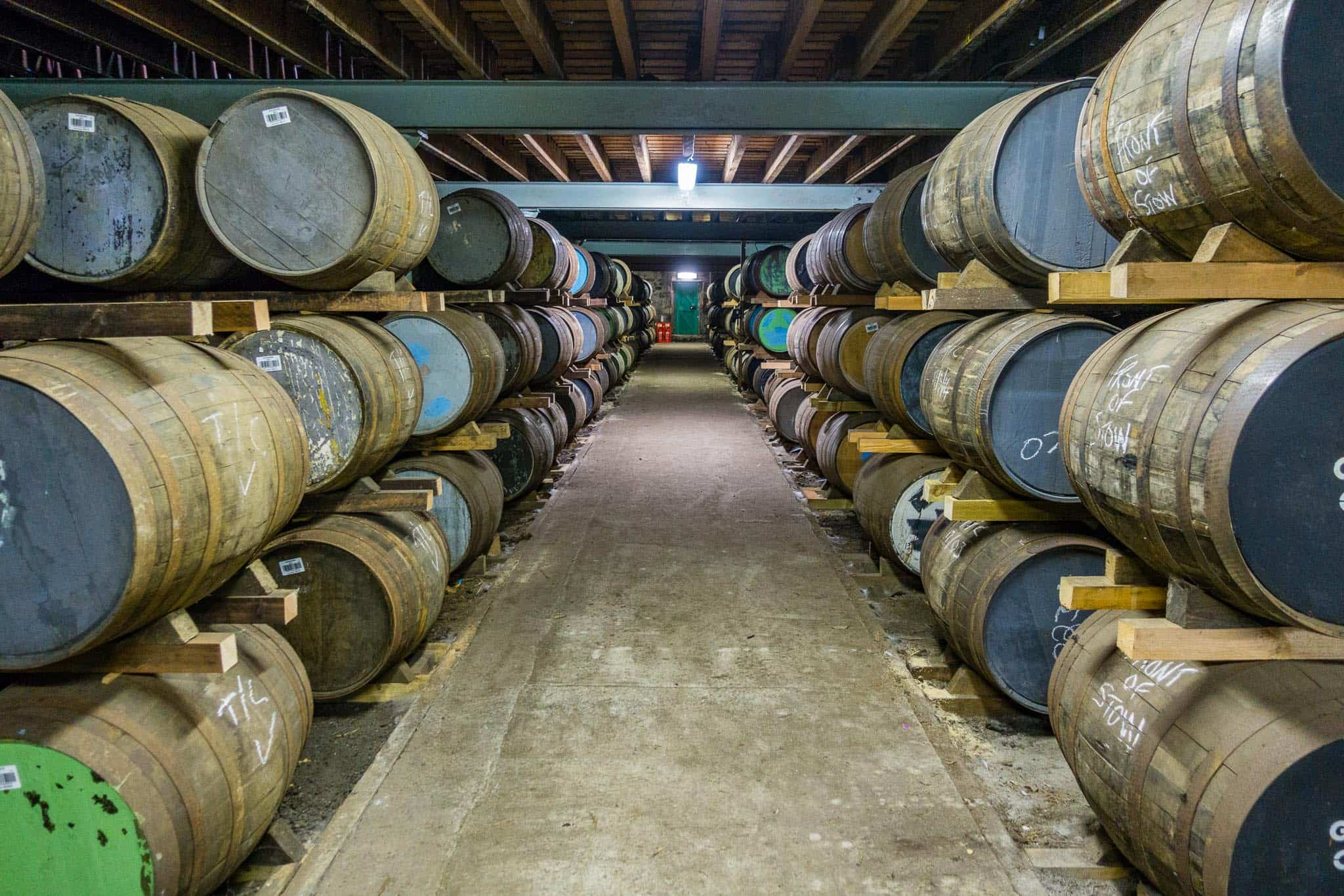 Aging the perfect whisky at Glen Ord Distillery