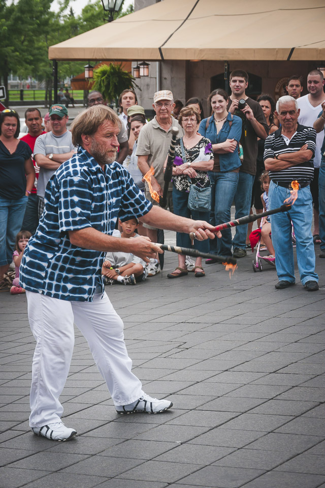street performers canada