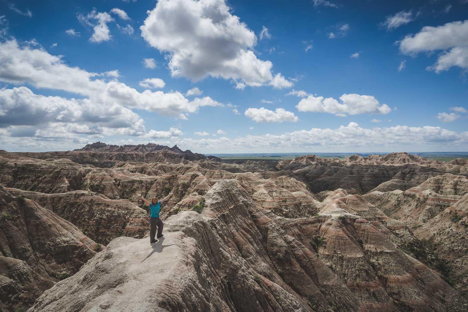 Pinnacles Overlook in Badlands National Park