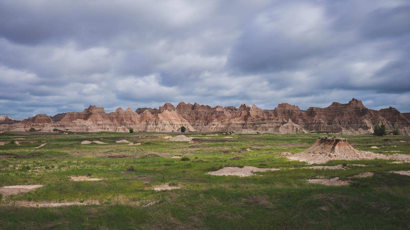 Yellow Mounds Overlook in Badlands National Park