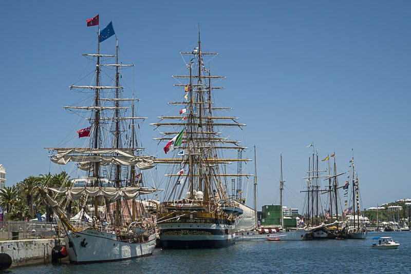 Tour a tall ship in Bermuda