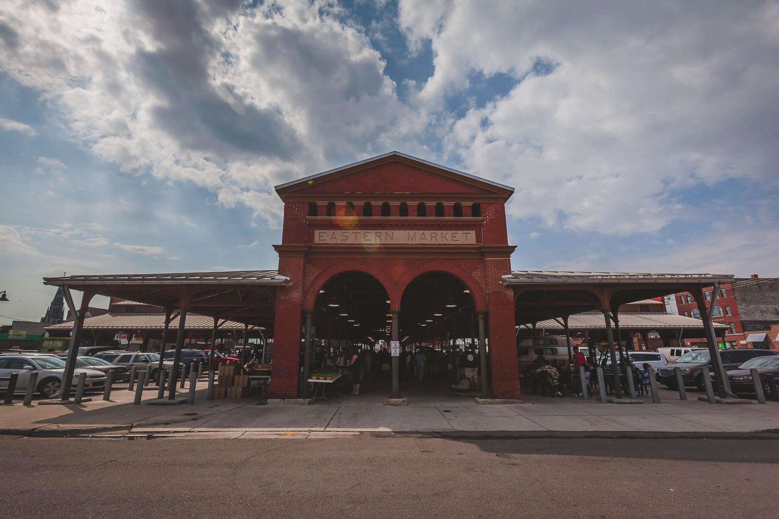 Eastern Market in Detroit