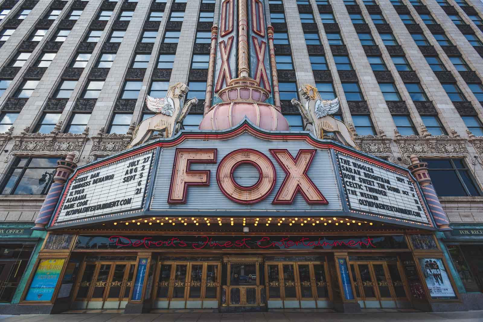 Fox Teatre Detroit