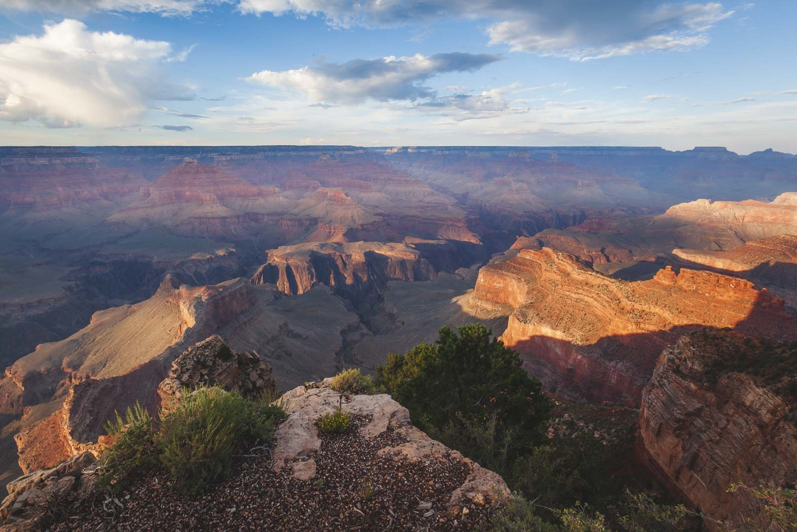 Soth Rim of the Grand Canyon