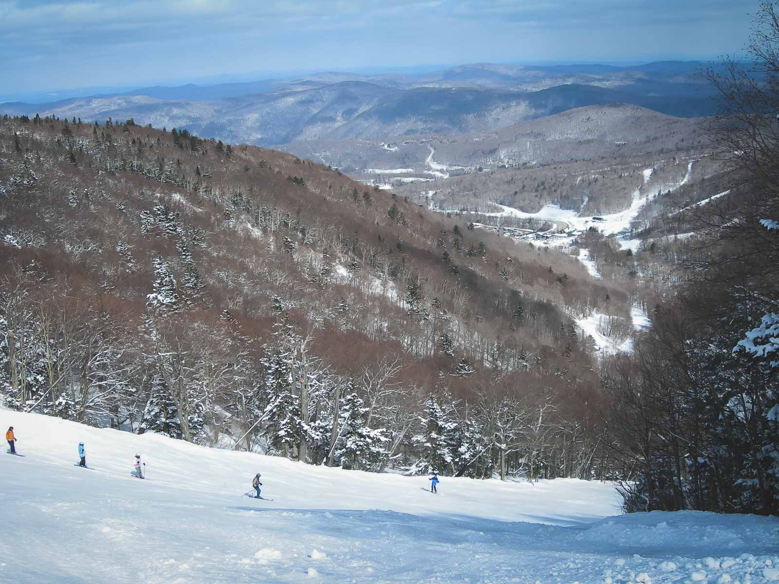 what to do in lake placid  - skiing white face mountain