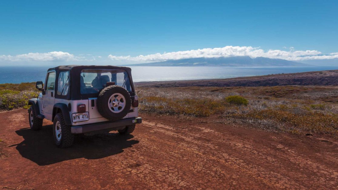 jeep rental on lanai