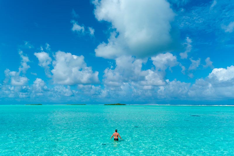 best of the Maldives blue waters