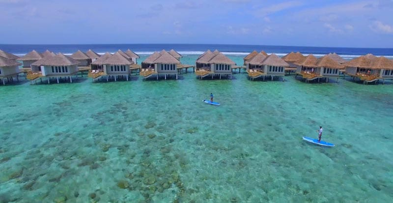 things to do in the Maldives paddle boarding