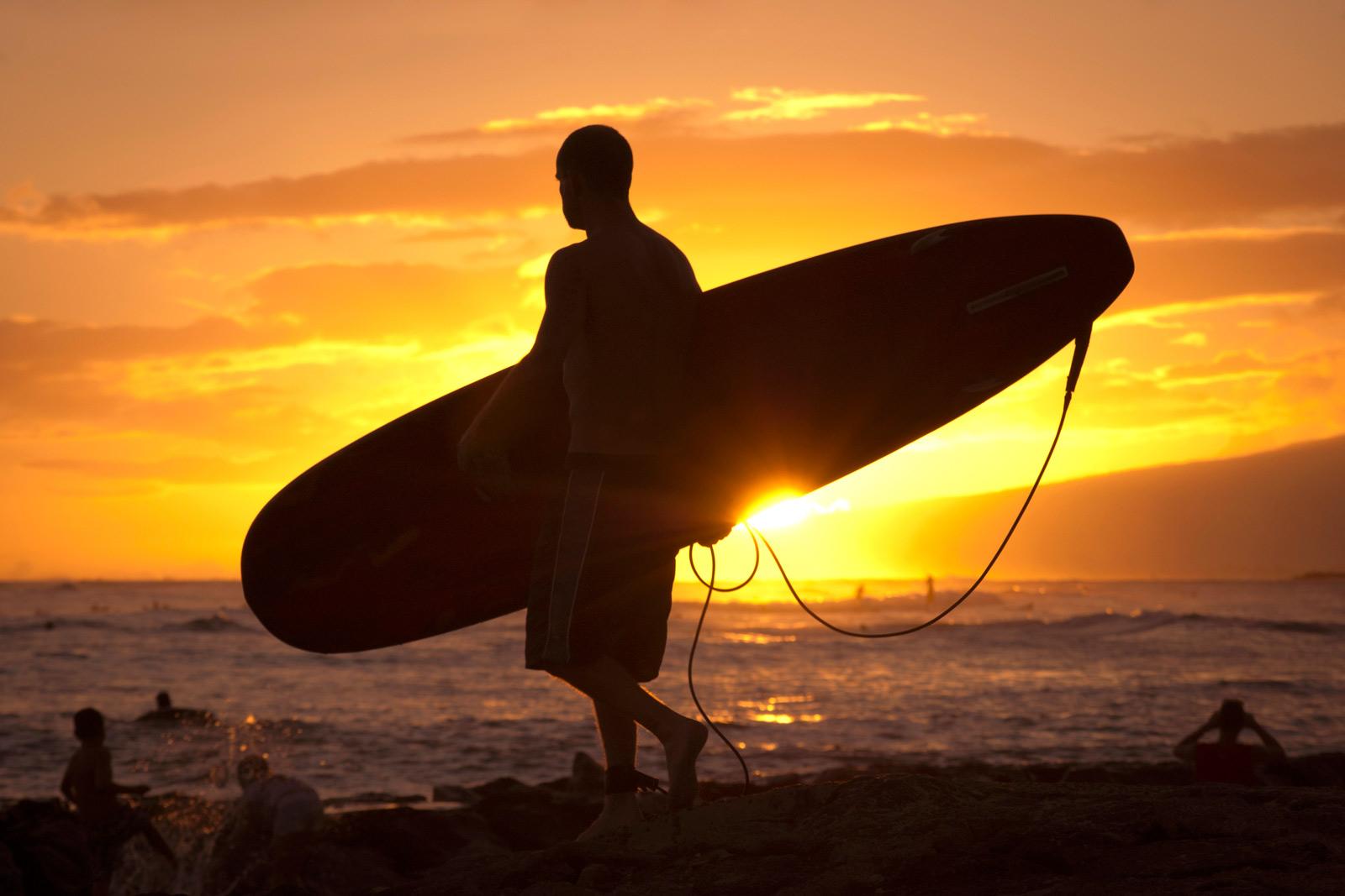 Learn to surf on Waikiki Beach Oahu