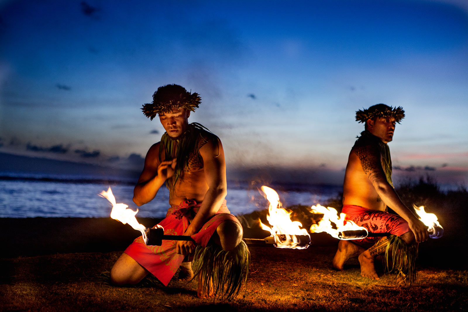 Attend a Luau in Oahu