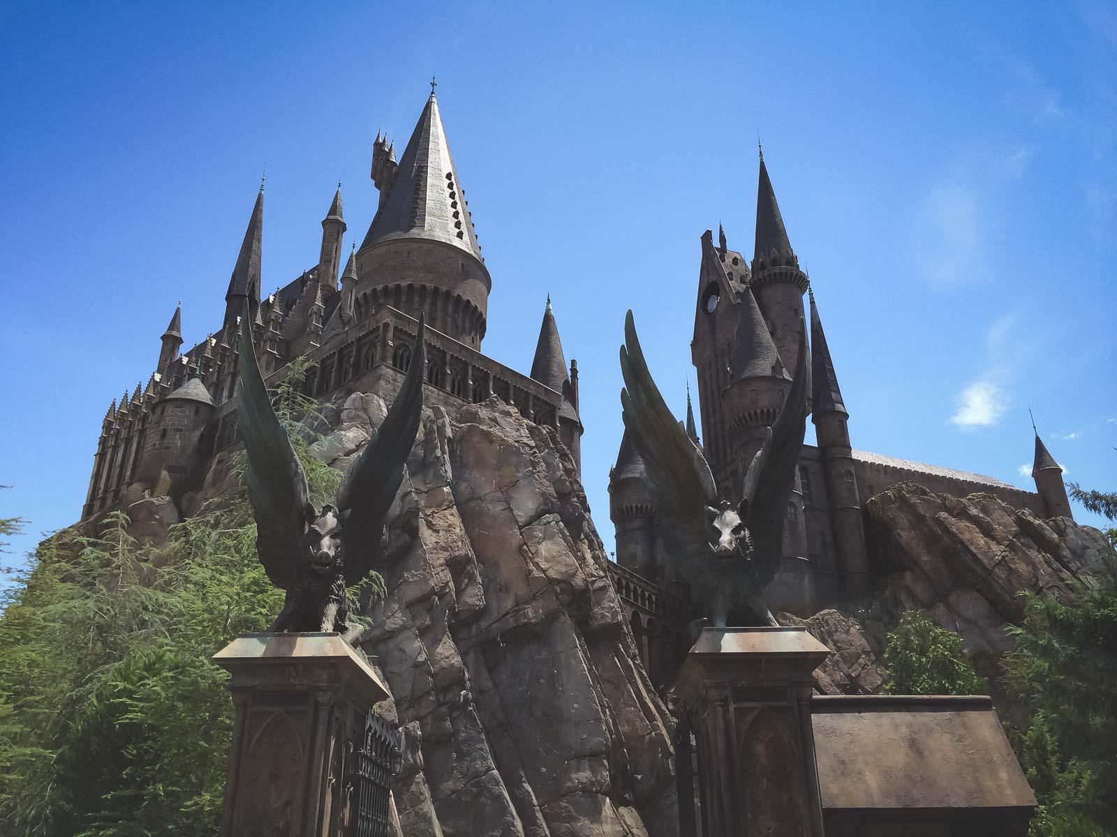 Harry potter at Universal Studios Orlando florida