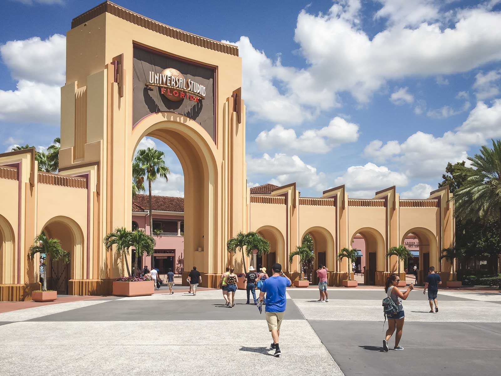 Universal Studios near Orlando Florida