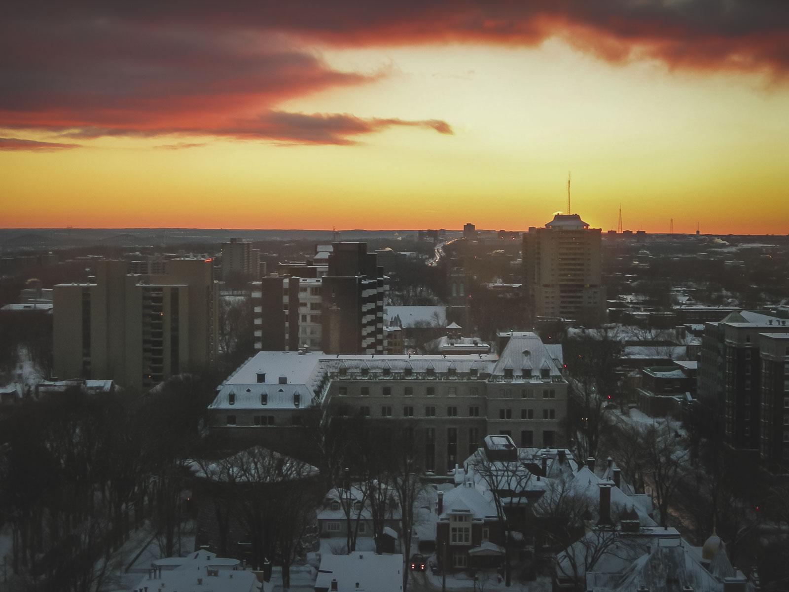 Downtown Quebec City
