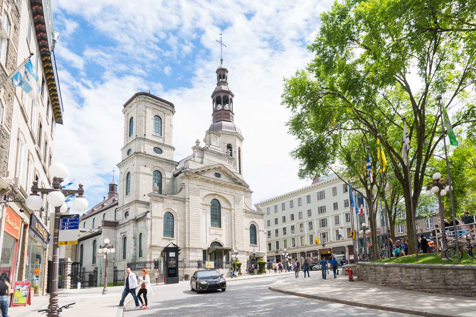 Notre Dame de Quebec inn Quebec City