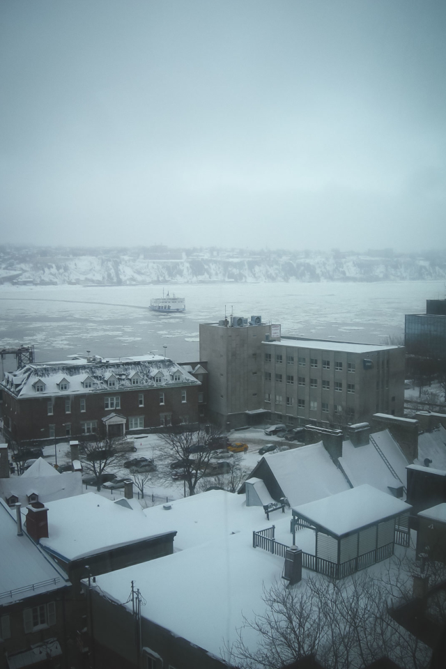 Saint Lawrence River from Quebec City