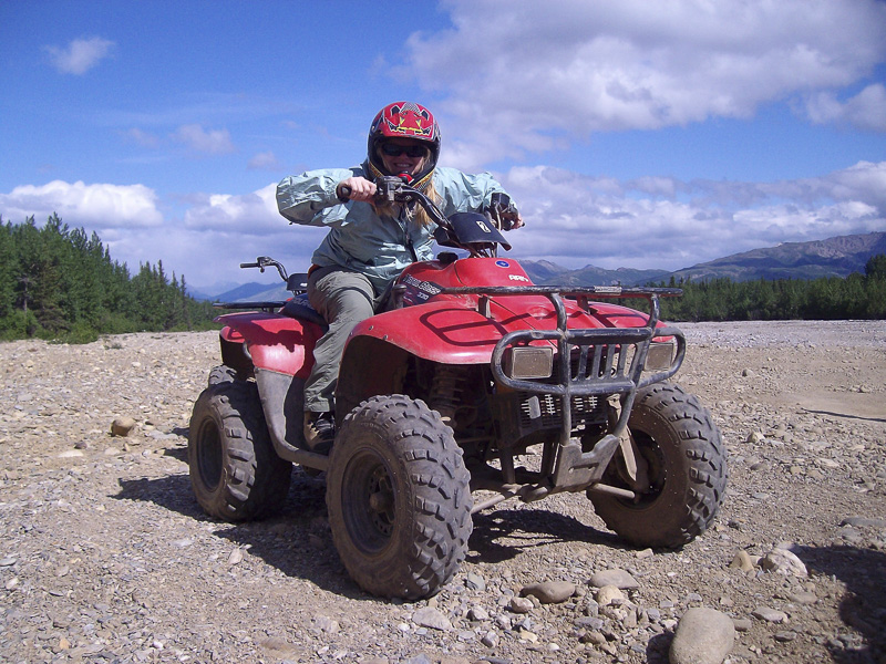 ATV riding in Denali