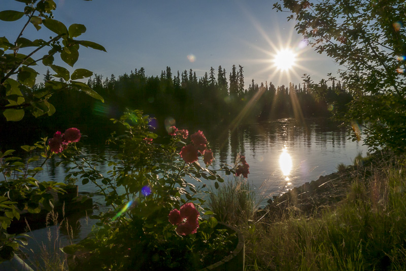 Enjoy the midnight sun as one of the things to do in Alaska after your Uncruise