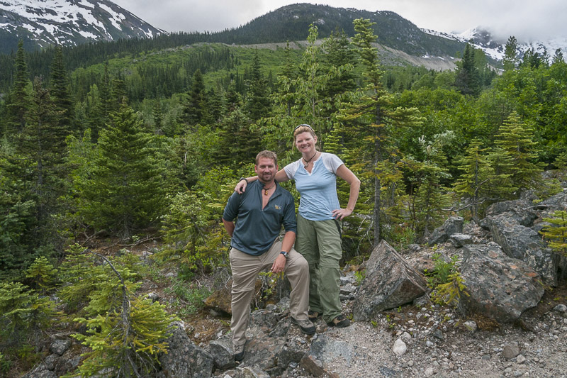 Hike in the Tongass National Forest of Alaska