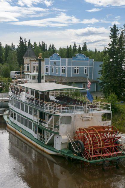 Take a riverboat in Fairbanks, alaska
